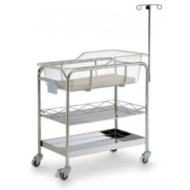 Stainless Steel Bassinet B012A