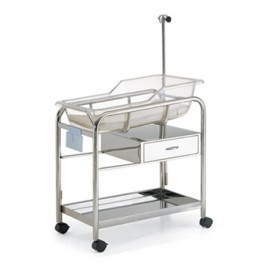 Stainless Steel Bassinet B012B